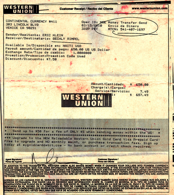 Baby Miracle Receipt Medical